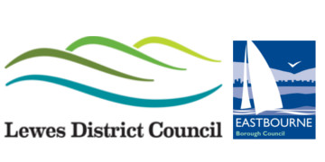 Eastbourne Borough Council and Lewes District Council logo