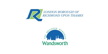 London Borough of Richmond upon Thames and London Borough of Wandsworth logo