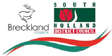 Breckland Council & South Holland District Council logo