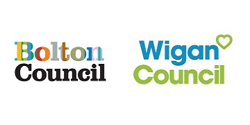 Bolton and Wigan Strategic Partnership logo