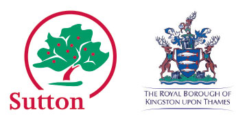 London Borough of Sutton & The Royal Borough of Kingston Upon Thames logo