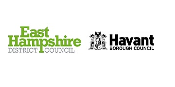 East Hampshire District Council and Havant Borough Council logo